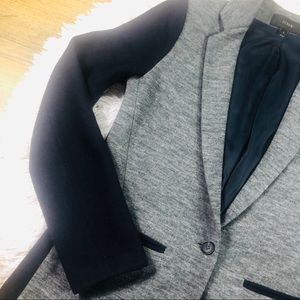 J. Crew Jackets & Coats - J. Crew Contrast Knit-Wool Blazer Size 2